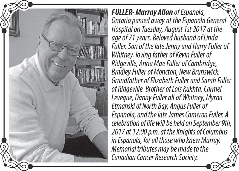 Fuller obituary